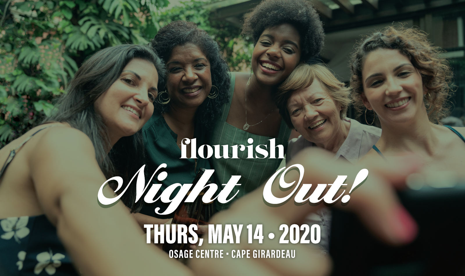 Flourish Night Out! Thursday, May 14, 2020, Osage Centre, Cape Girardeau
